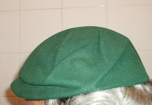 mini boina verde trazida da europa será espanhola país basco