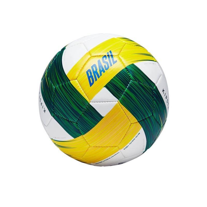 mini bola de futebol campo brasil infantil kipsta. Carregando zoom. e1aeb266d457f
