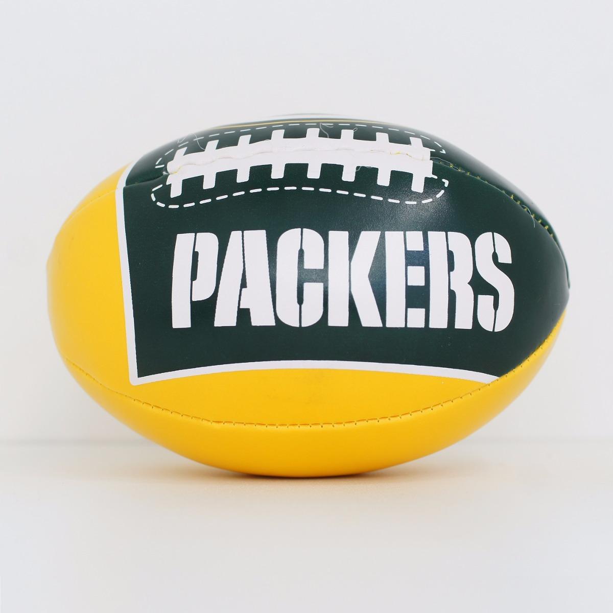 mini bola futebol americano - nfl - green bay packers. Carregando zoom. ec59a5097d9c3