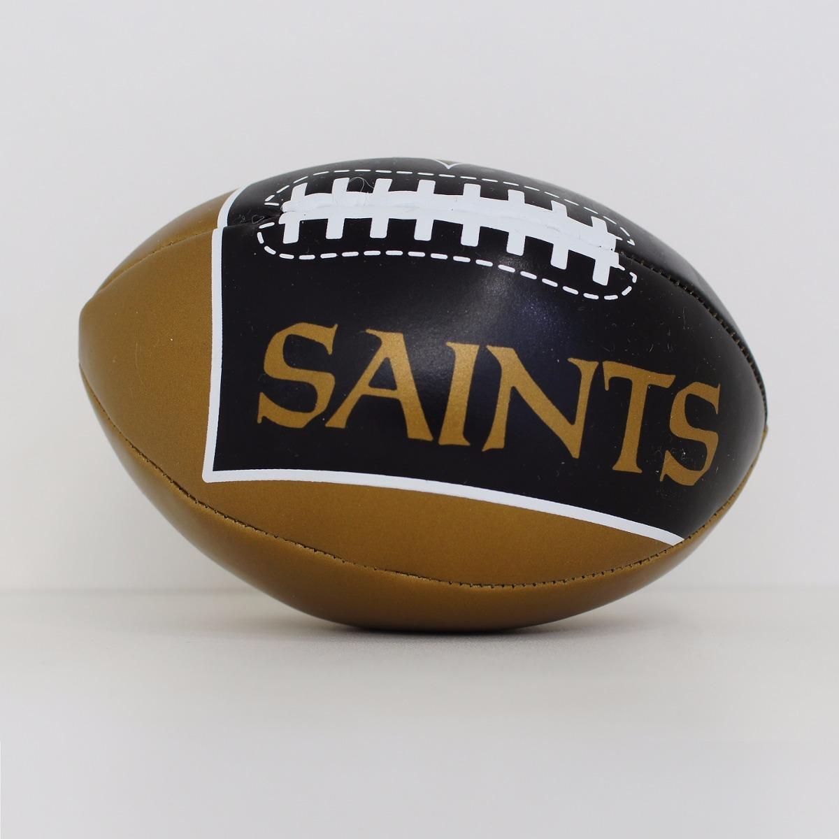 mini bola futebol americano - nfl - new orleans saints. Carregando zoom. 30b08f679e61e