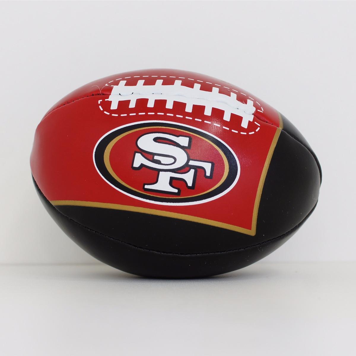 mini bola futebol americano - nfl - san francisco 49ers. Carregando zoom. c3255ec49c069