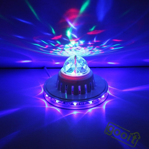 mini bola laser de led bombillo
