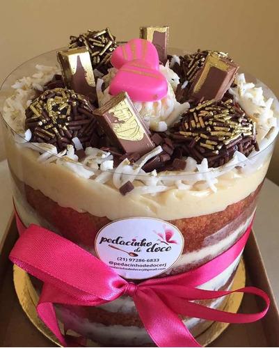 mini bolo gourmet delicioso