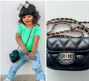 d4f877d77 Bolsa Inspired Chanel Infantil - Calçados, Roupas e Bolsas no Mercado Livre  Brasil