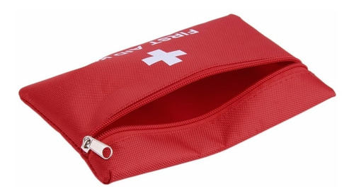 mini bolsa primeiros socorros pasta first aid kit - 19 cm