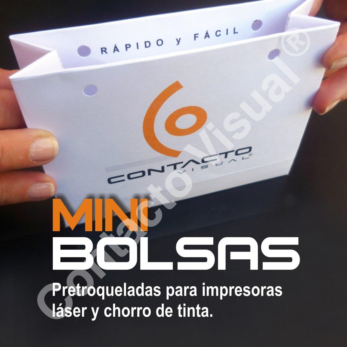 Mini Bolsas De Papel En A4 Para Imprimir Y Armar - $ 370,00 en ...