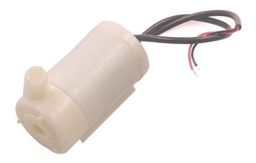 mini bomba agua motor sumergible dc 3-5v 70-120l/h arduino