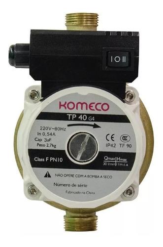 mini bomba agua pressurizadora komeco tp40 g4 bronze