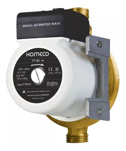mini bomba agua pressurizadora komeco tp80 g4 bronze
