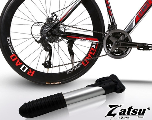 mini bomba de aire para bicicleta cilindro de aluminio