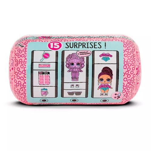 mini boneca surpresa - lol surprise - underwrap surprise - 1