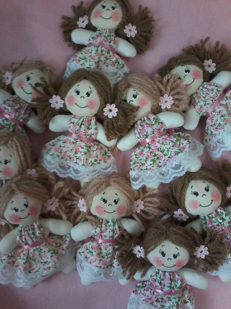Aparador Para Sala De Jantar Planejado ~ Mini Bonecas De Pano Para Lembrancinhas Ou Decoraç u00e3o R$ 11,75 em Mercado Livre