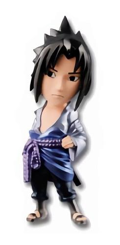 mini bonecos naruto shippuden wcf metallic sasuke
