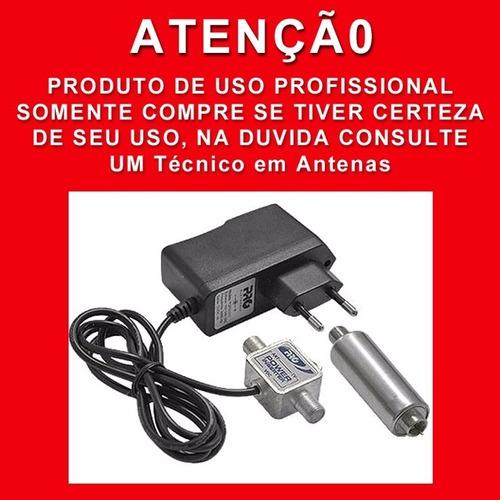 mini booster amplificador 40db uhf  pqbt-4000a tv digital hd