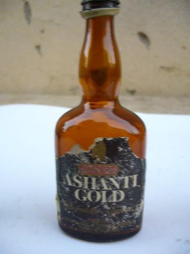 mini   botella ashanti gold chocolate
