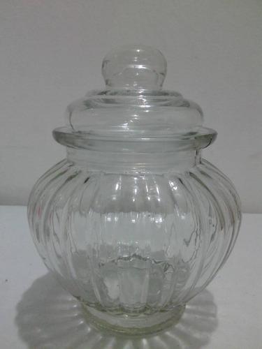 mini bowl de cristal con tapa hermetica