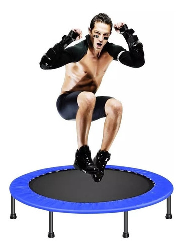 mini brincolin trampolin fitness 1m jumping ejercicio gym