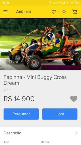 mini buggy fapinha cross dakar (cross dream)