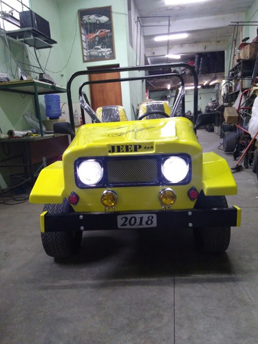 mini buggy jeep completo único com portas e setas motor 215c