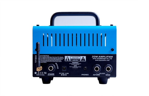 mini cabeçote amplificador joyo bluejay 20w bantamp bluetoot