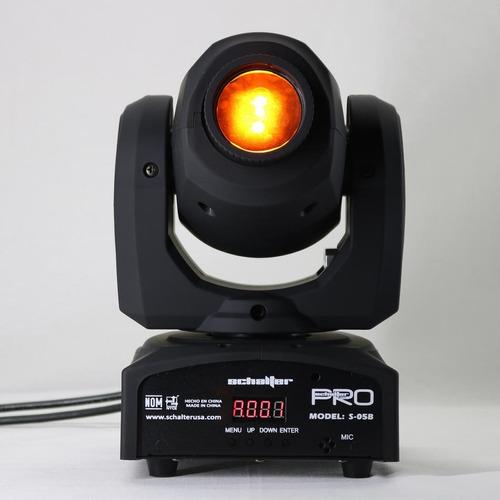 mini cabeza movil robotica led 30w