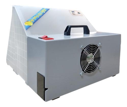 mini cabine para aerografia bivolt c/ led e exaustor wwsolda