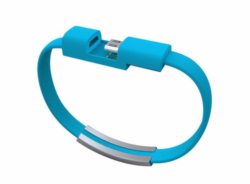 mini cable pulsera micro usb a usb sync data samsung huawei