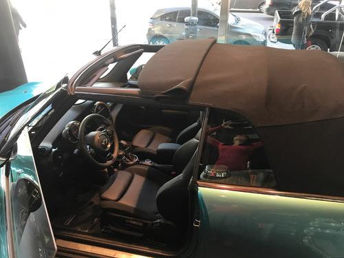 mini cabrio cooper s 2017