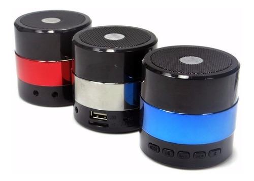 mini caixa caixinha som portátil bluetooth mp3 fm sd usb hi