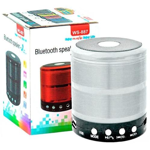 mini caixa caixinha som portátil bluetooth mp3 fm sd usb wi