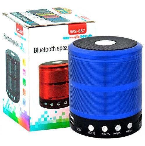 mini caixa caixinha som portátil bluetooth mp3 sd usb hifi