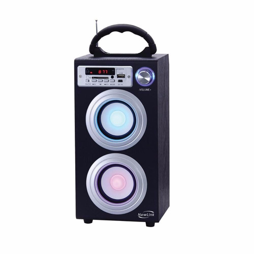 mini caixa de som 30w amplificada bluetooth mp3 fm usb sp106