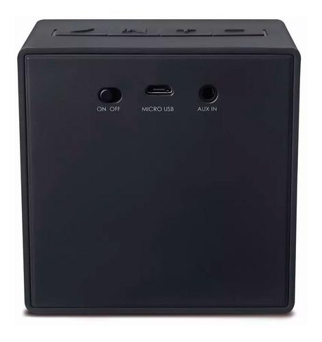 mini caixa de som 8w bluetooth portatil saida micro usb/aux