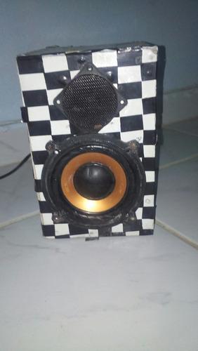mini caixa de som altomotiva