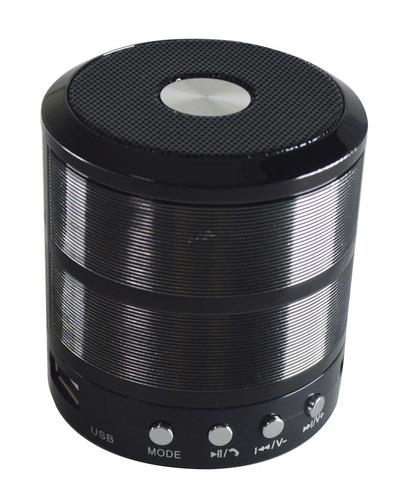 mini caixa de som bluethoot d-bh887 grasep (preto)