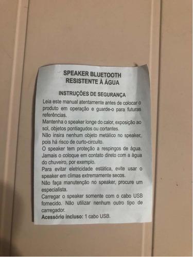 mini caixa de som bluetooth - disney