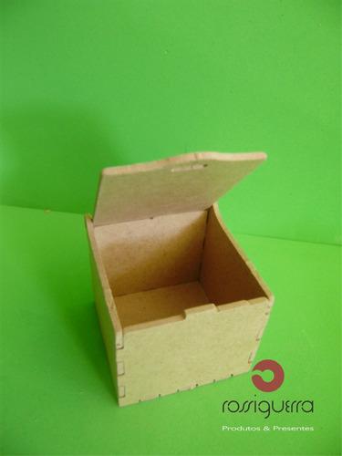 mini caixa, mdf crú, festa, lembrança,cupcake,docinho,