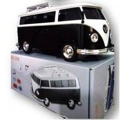 mini caixa som kombi mp3 rádio digital stereo fm usb microsd