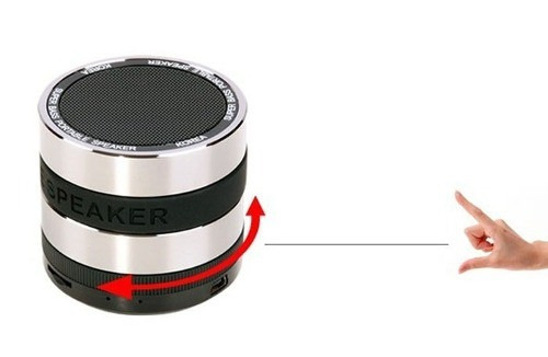 mini caixa som speaker bluetooth bass portátil micro-usb p2