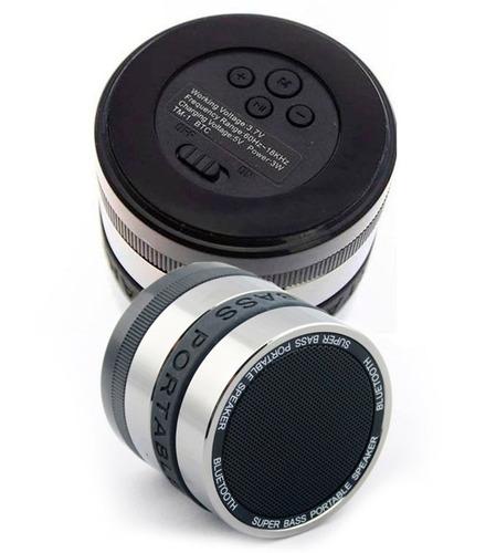 mini caixa som speaker bluetooth bass portátil micro-usb p2