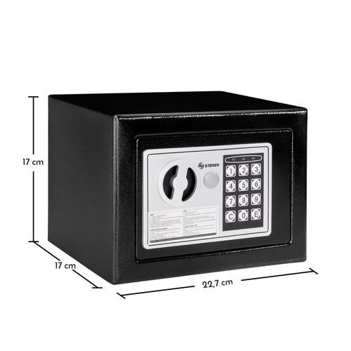mini caja fuerte electrónica