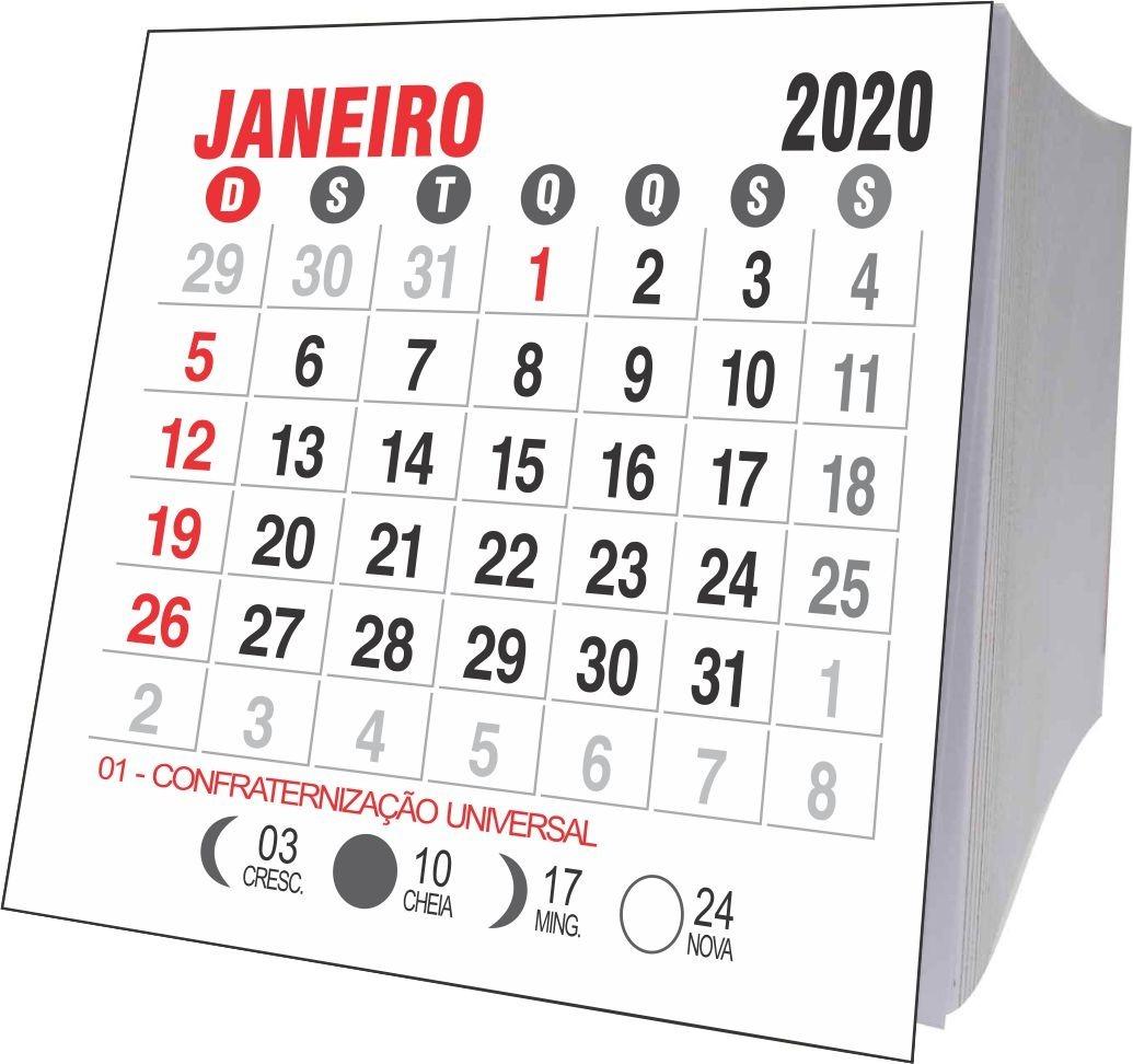Seria Calendario 2020.Mini Calendario 2020 Jogos Soltos 1000 Unidades