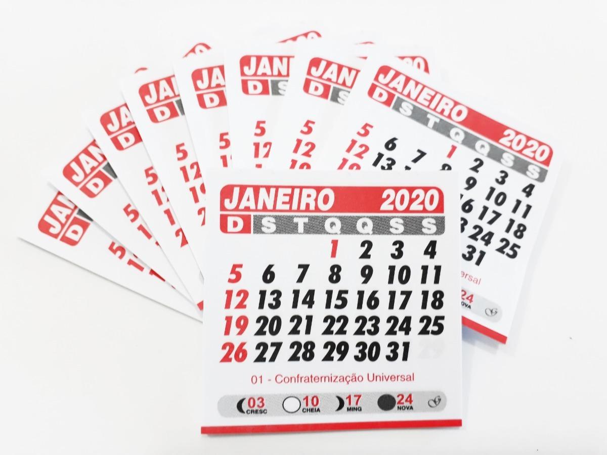 Mini Calendario.Mini Calendario 5x5 Bloquinho De Geladeira 1000 Un Destacado