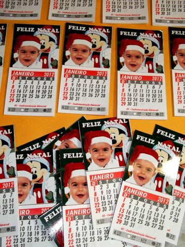 mini calendários personalizados com imãs de geladeira 30 und