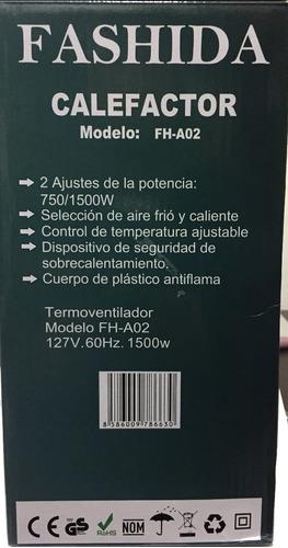 mini calentador automático (calefactor) personal portatil