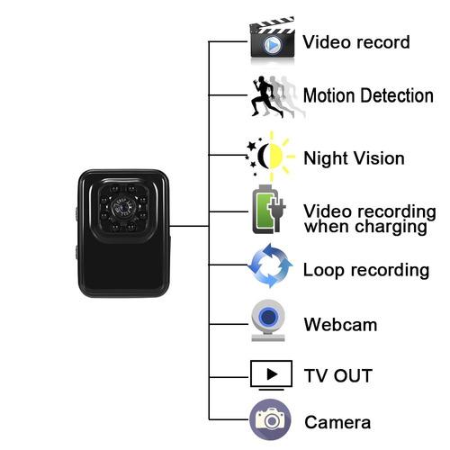 mini cámara 1080p pequeña cámara lxmimi portátil hd pequeña
