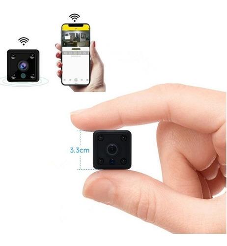 mini cámara bebe espía wifi ip hd monitoreo en tiempo real