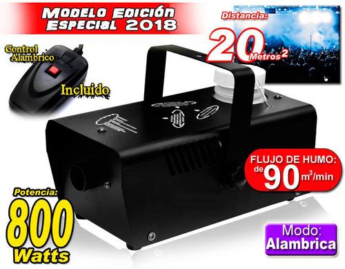 mini camara de humo 800w con control alambrico mayor alcance