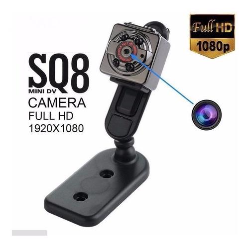 mini camara espia 1080p go full pro hd fotos 12mp la mejor