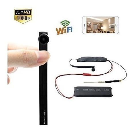 mini cámara espía 4k wifi inalámbrica sensor de movimiento